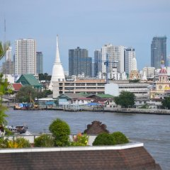 Отель Riva Arun Bangkok парковка