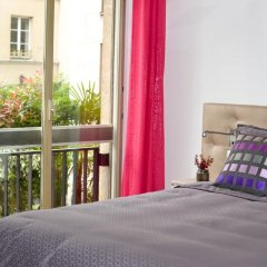 Отель Assia & Nathalie Luxury B&B Marais Париж балкон