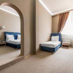 Гостиница Фортис 3* Стандартный семейный номер с разными типами кроватей фото 2