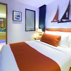 Отель Deep Blue Z10 Pattaya Улучшенный номер с различными типами кроватей фото 5