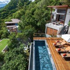 Отель Villas Del Sol Koh Tao Таиланд, Шарк-Бей - отзывы, цены и фото номеров - забронировать отель Villas Del Sol Koh Tao онлайн бассейн фото 3