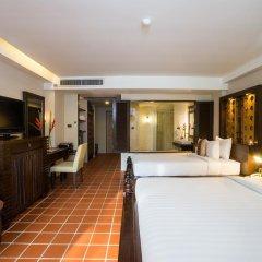 Отель Aonang Princeville Villa Resort and Spa 4* Семейный номер Делюкс с двуспальной кроватью фото 4