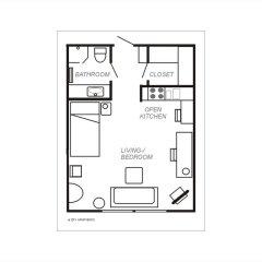 Отель City Apartments - Helsinki Финляндия, Хельсинки - отзывы, цены и фото номеров - забронировать отель City Apartments - Helsinki онлайн интерьер отеля