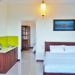 Отель An Bang Beach Holidays Стандартный номер с различными типами кроватей фото 6