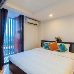 Отель Rocco Huahin Condominium Студия с различными типами кроватей фото 27