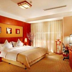 Central Hotel Jingmin 5* Улучшенный номер с различными типами кроватей фото 7