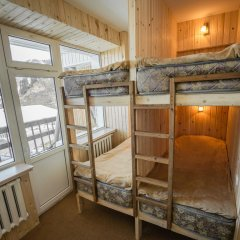 Гостиница Шымбулак 3* Кровать в общем номере двухъярусные кровати