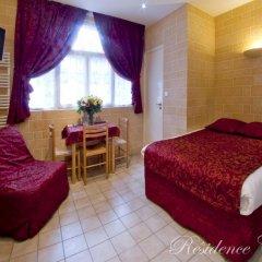 Отель Residence Courcelle 2* Студия с различными типами кроватей фото 7