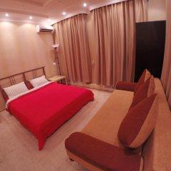 Гостиница Майкоп Сити Улучшенный номер с различными типами кроватей фото 4