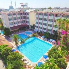 Gazipasa Star Hotel & Apartments Турция, Сиде - отзывы, цены и фото номеров - забронировать отель Gazipasa Star Hotel & Apartments онлайн бассейн фото 3