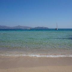 Отель Saronis Hotel Греция, Агистри - отзывы, цены и фото номеров - забронировать отель Saronis Hotel онлайн пляж фото 2
