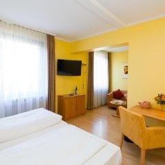 Отель Parkhotel im Lehel Германия, Мюнхен - 1 отзыв об отеле, цены и фото номеров - забронировать отель Parkhotel im Lehel онлайн комната для гостей фото 5
