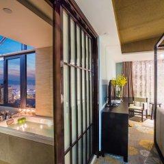 Отель Hangzhou Hua Chen International 4* Улучшенный номер с различными типами кроватей фото 10