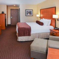 Отель Best Western Plus Cascade Inn & Suites 2* Стандартный номер с различными типами кроватей фото 6