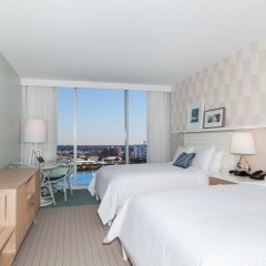 Отель Wyndham Grand Clearwater Beach 4* Номер Делюкс с двуспальной кроватью фото 3