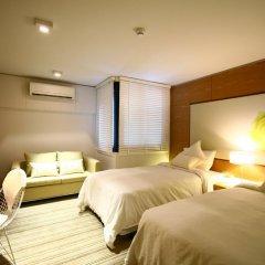 I Residence Hotel Silom 3* Номер Делюкс с различными типами кроватей фото 16
