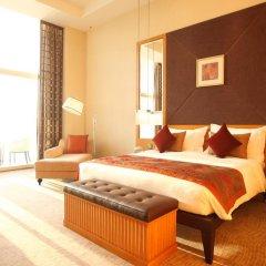 Al Raha Beach Hotel Villas 4* Улучшенный номер с различными типами кроватей фото 5