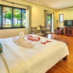 Отель Agribank Hoi An Beach Resort 3* Вилла с различными типами кроватей фото 9