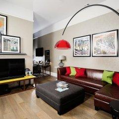 Отель Malmaison Glasgow Глазго комната для гостей фото 7
