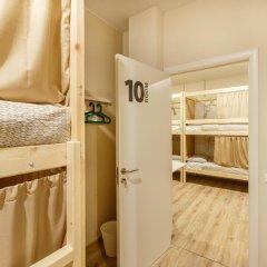 Nice Hostel Павелецкая Люкс с различными типами кроватей фото 16
