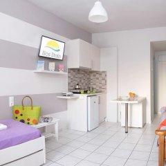 Отель Ilios Studios Stalis Студия с различными типами кроватей фото 16