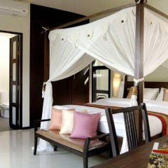 Отель Two Villas Holiday Oriental Style Layan Beach 4* Вилла с различными типами кроватей фото 30