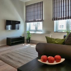 Отель Gdansk Deluxe Apartments Польша, Гданьск - отзывы, цены и фото номеров - забронировать отель Gdansk Deluxe Apartments онлайн комната для гостей фото 4