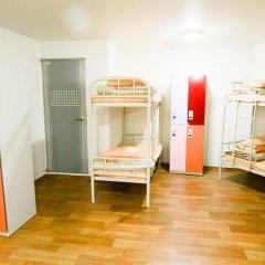 YaKorea Hostel Dongdaemun Кровать в общем номере с двухъярусной кроватью фото 12