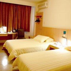 Отель Jinjiang Inn Chendu Jinxianqiao 2* Стандартный номер с различными типами кроватей фото 3