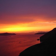 Отель Antithesis Caldera Cliff Santorini пляж