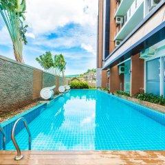 Апартаменты Karon Chic Studio бассейн