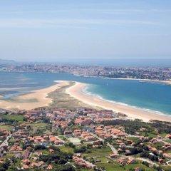 Hotel Torres de Somo пляж