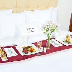 Гостиница DoubleTree by Hilton Novosibirsk 4* Представительский номер разные типы кроватей фото 9
