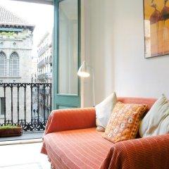 Отель Avenida Apartments Ripoll WHITE Испания, Барселона - отзывы, цены и фото номеров - забронировать отель Avenida Apartments Ripoll WHITE онлайн комната для гостей фото 3
