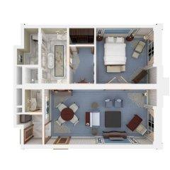 Отель Habtoor Palace, LXR Hotels & Resorts Номер Делюкс с различными типами кроватей фото 5