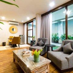 Отель Aleesha Villas 3* Вилла Делюкс с различными типами кроватей фото 21