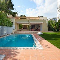Отель Villa Eliza Греция, Вари-Вула-Вулиагмени - отзывы, цены и фото номеров - забронировать отель Villa Eliza онлайн бассейн
