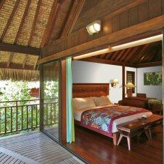 Отель Sofitel Bora Bora Private Island 4* Номер Делюкс с различными типами кроватей
