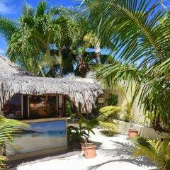 Отель Village Temanuata Французская Полинезия, Бора-Бора - отзывы, цены и фото номеров - забронировать отель Village Temanuata онлайн бассейн фото 2
