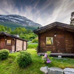 Отель Nesset Fjordcamping Стандартный номер с двуспальной кроватью (общая ванная комната) фото 8