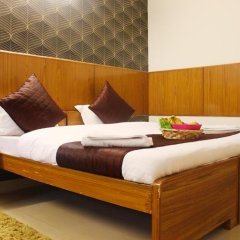 Hotel Delhi Marine Club C6 Vasant Kunj комната для гостей