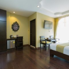Отель Zing Resort & Spa Таиланд, Паттайя - 11 отзывов об отеле, цены и фото номеров - забронировать отель Zing Resort & Spa онлайн удобства в номере фото 2