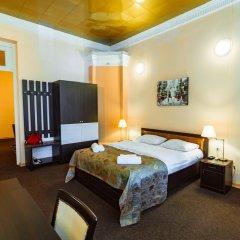 Бутик-отель Корал 4* Стандартный семейный номер с двуспальной кроватью фото 3
