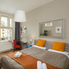 Hotel Apartments Wenceslas Square комната для гостей