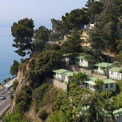 Отель Camping Bungalows El Far пляж фото 2