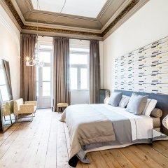 Отель Palácio Fenizia (Charm Palace) Люкс разные типы кроватей