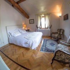 Отель Castello Di Mornico Losana Номер Делюкс фото 22