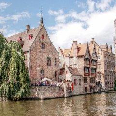 Отель Leonardo Hotel Brugge Бельгия, Брюгге - 2 отзыва об отеле, цены и фото номеров - забронировать отель Leonardo Hotel Brugge онлайн приотельная территория