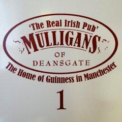 Отель Mulligans of Deansgate гостиничный бар