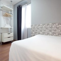 Отель Hostal Nitzs Bcn Стандартный номер с различными типами кроватей фото 4